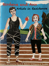BIRDENE AND ANN ARTISTS IN RESIDENCE PAPER DOLL BOOK AUTOGRAPHED #18/90 MAINE