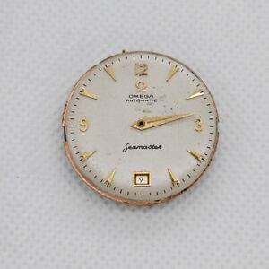 1950 Omega Movement Bumper Automatic Cal 353 for Parts or Restore