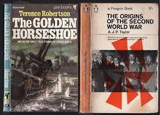 WWII 2-for-1 The GOLDEN HORSESHOE German U-BOAT Espionage + ORIGINS Second War