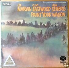 Vintage Paramount Western PAINT YOUR WAGON Music from Motion Picture Soundtrack