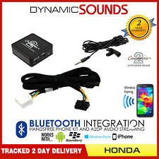 Honda Civic Bluetooth streaming adapter handsfree call CTAHOBT001 AUX MP3 iPhone