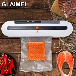 Premium Portable Electric Vacuum Sealer Machine Automatic Food Vacuum With 10pcs