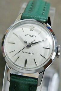 Rolex Precision /Cal.131/ Hand-Winding Women's Wrist Watch