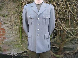 German Army Dress Jacket NO INSIGNIA Uniform Lined Grey Genuine Military Surplus