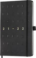 2021 2022 Daily Planner Calendar Organizer Refillable Hardcover Back Pocket