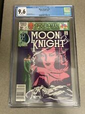 Moon Knight #14 CGC 9.6 White Pgs Newsstand Marvel Disney+ Stained Glass Scarlet