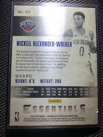 NICKEIL ALEXANDER-WALKER #231 Essentials Rookie RC - Panini 2019-20 Chronicles