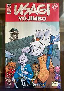 Usagi Yojimbo #20 Main Cover A 1st Print - 1st Yukichi Yamamoto 2021 IDW