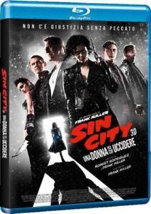 Blu Ray Sin City - Una Donna per Cui Uccidere 3D (Blu Ray 3D + Blu Ray) ...NUOVO