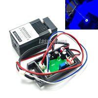 445nm 450nm 300mW Blue Dot Laser Diode Module 12V w/TTL & Driver & Fan