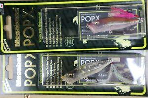 MEgabass pop-x sp-c set skelton frog crack sand10th special color  From Japan
