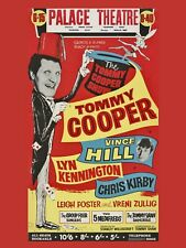 """Tommy Cooper Palace Blackpool 16"""" x 12"""" Reproduction Poster"""