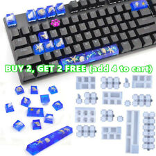 UV Epoxy Resin Making Tools Key Cap Resin Mold Keyboard Molds Silicone Mould **
