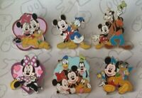 Fab Five Mickey Minnie Mouse and Friends Starter Set Choose a Disney Pin