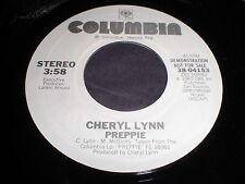 Cheryl Lynn: Preppie / (Same) 45 - Disco Soul