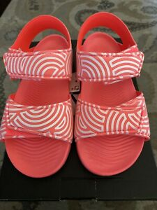 Adidas Altaswim C HIROCOLEDGE TAKASHI HIROKO Sandals Youth Size 1 Pink FX1201