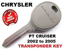 ID64 CHRYSLER PT CRUISER  transponder car key blank 2002-2005 We can cut program