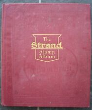 Old 23th Edition Strand Stamp Album 1000+ Stamps