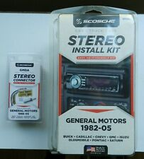 Scosche~Stereo Install Kit & Connectors/Antenna GM 1988-05