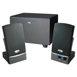 Cyber Acoustics Ca-3001wb Oem 3 Pc Subwoofer System (ca3001wb)