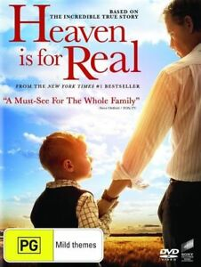 Heaven Is For Real DVD AB5 inspiring story of faith and conviction