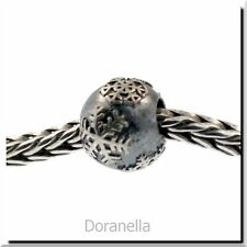 Authentic Trollbeads Sterling Silver 11273 Snowball :1