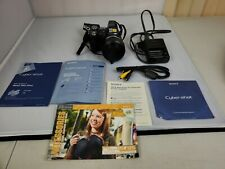 Sony Cyber-Shot DSC-H5 Digital Camera and battery charger