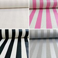 AS Creation Stripe Pattern Wallpaper Modern Glitter Motif Embossed Textured Roll