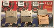 Yamaha FZS1000 Fazer (2001 to 2005) EBC Sintered FRONT and REAR Disc Brake Pads