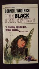 "Cornell Woolrich, ""BlackPath of Fear,"" 1968, Ace H-66, VG+, 1st thus"