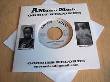 "Enos McLeod – World In His Hands Vinyl, 7"", 45 RPM, Reissue"
