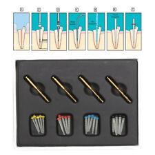 5X Dental AAA Fiber Post Resin High-intensity Screw Thread Glass + 20 Drills HOT