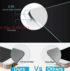 100% Genuine Real Curved Tempered Glass Screen Protector Film For iPhone 5 5C 5S
