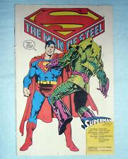 WATCHMEN + SUPERMAN Allegato Supplemento CORTO MALTESE 12 Dicembre 1988