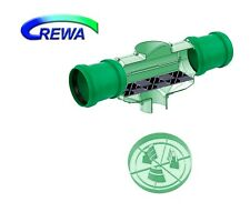 DN 150er Regenwasserfilter F-150XL Kunststoffspaltsieb und Zulauftopf