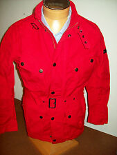 Barbour International Barbane Cotton Casual Jacket NWT Large $349 Red