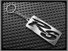 Keyring for YAMAHA YZF R6 - Stainless Steel, Hand Made, Chain Loop Key Fob
