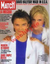 Paris Match 1994 - 14/08/1987 Sylvie Vartan David Hallyday Marilyn Monroe Mecque