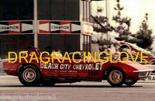 """Beach City Chevrolet"" 1969 Chevy Corvette Roadster NITRO Funny Car PHOTO!"