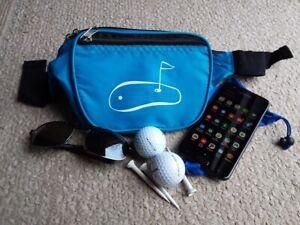 Waist Pack Purse with Golf Design