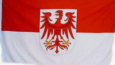 Fahne Flagge Brandenburg Bundesland 1,5 Meter x 0,9 mit Oesen Deutschland # 264