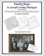 Family Maps St. Joseph County Michigan Genealogy Plat