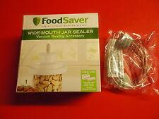 1 Foodsaver Wide Mouth Jar Sealer plus 1 hose accessory