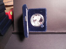 1997 Proof silver eagle with box and COA
