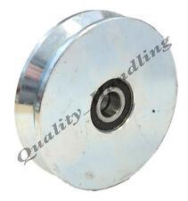 sliding gate wheel pulley wheel 200mm V groove steel wheel heavy duty