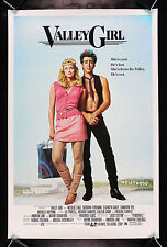 VALLEY GIRL  CineMasterpieces ROLLED TOTALLY FOR SURE ORIGINAL MOVIE POSTER 1983