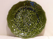 VINTAGE & RARE MAJOLICA PLATE BY EMILE REGAL AND JULES SANEJOUAND - ANCHOR MARK