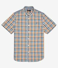Fred Perry Men's Cotton Short Sleeve Casual Shirts & Tops