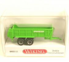 Joskin Epandeur Jaune-vert Wiking 095503 voie N 1 160 Modèle