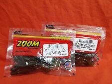 ZOOM Ultra Vibe Speed Craw (12cnt) #080-184 Green Pumpkin Green (2 PCKS)